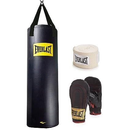 e692fc86db Amazon.com   Everlast 100 lb. Heavy Bag Kit   Heavy Punching Bags   Sports    Outdoors