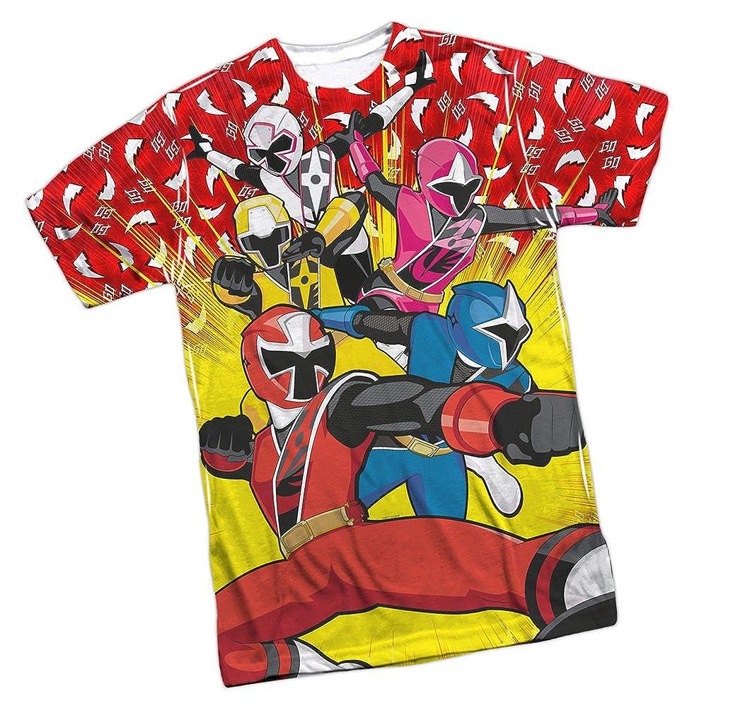 Amazon.com: Go Go -- Power Rangers Ninja Steel Front Print ...