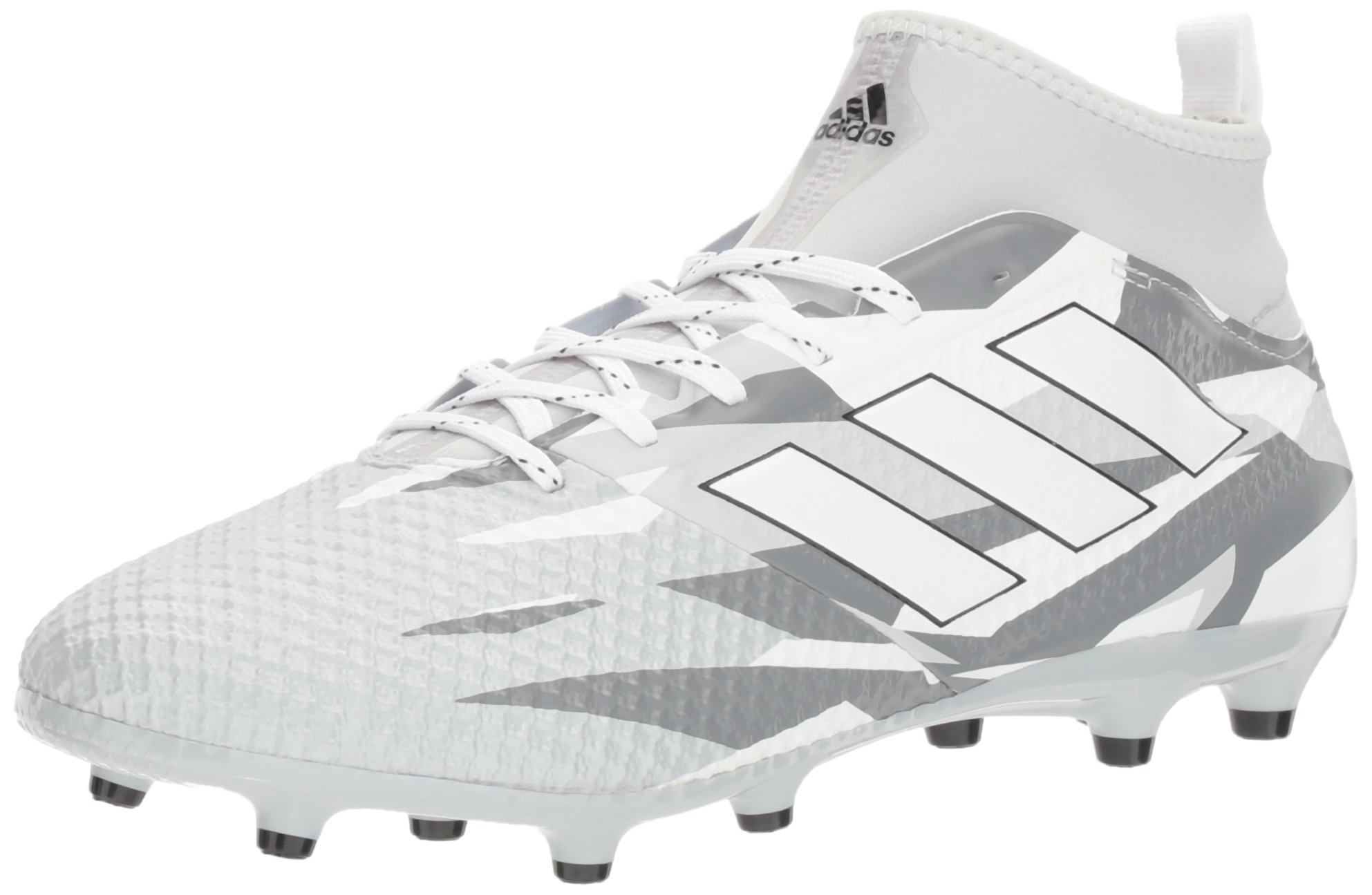 pretty nice ca009 2a93d adidas Performance Men's Ace 17.3 Primemesh FG Soccer Shoe, Clear  Grey/White/Black, 9.5 M US