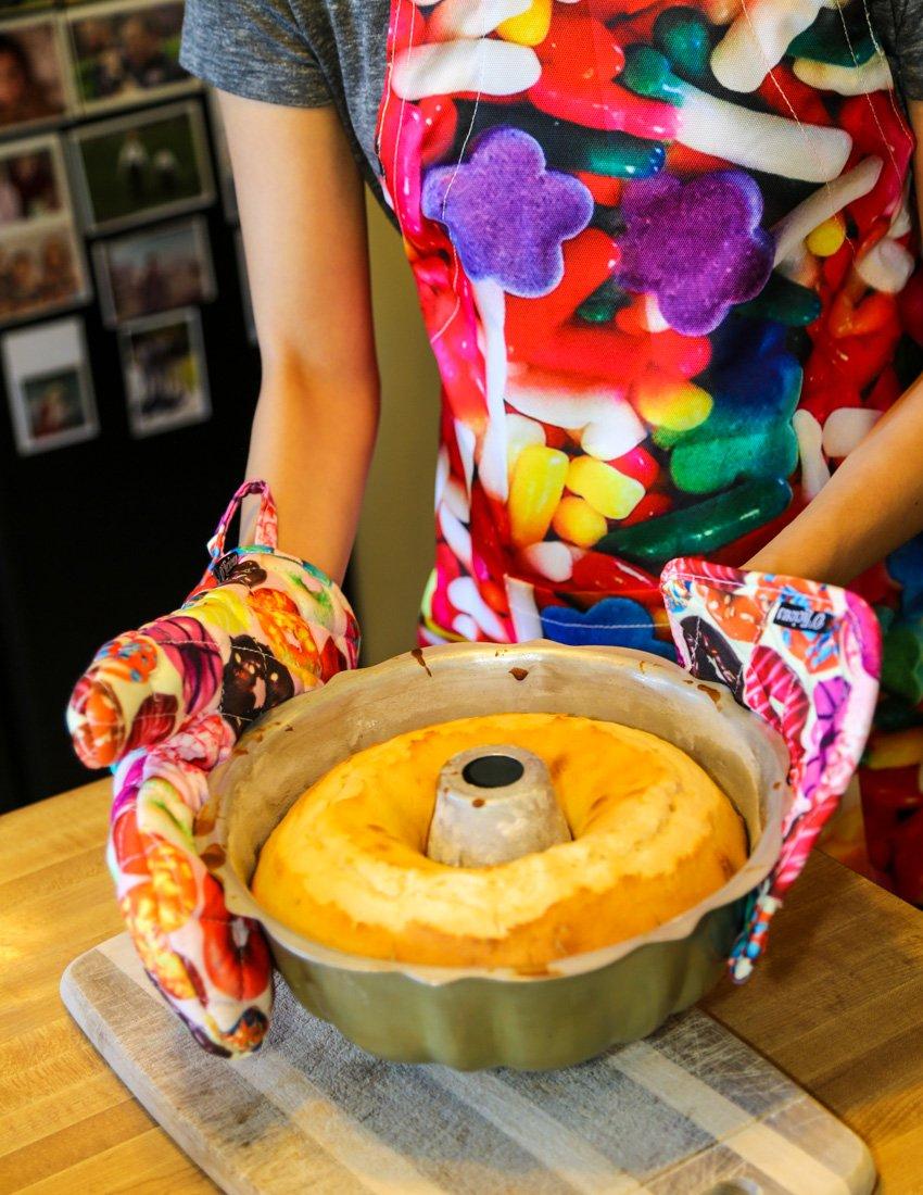 Fashion Kitchen Oven Mitt/&Pot Holder Set:Veggies|Baker,Chef,Mom,Grandma Gift