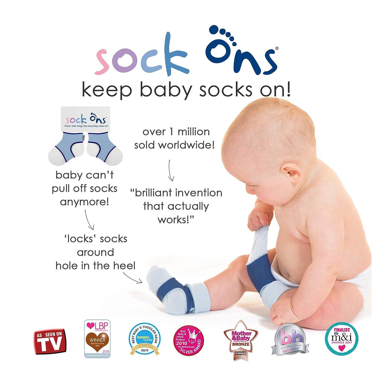 0-6 Monate die Babysocken halten! Sock Ons Kluge kleine Dinge - Baby Blue x 2 2 St/ück TWIN PACKS