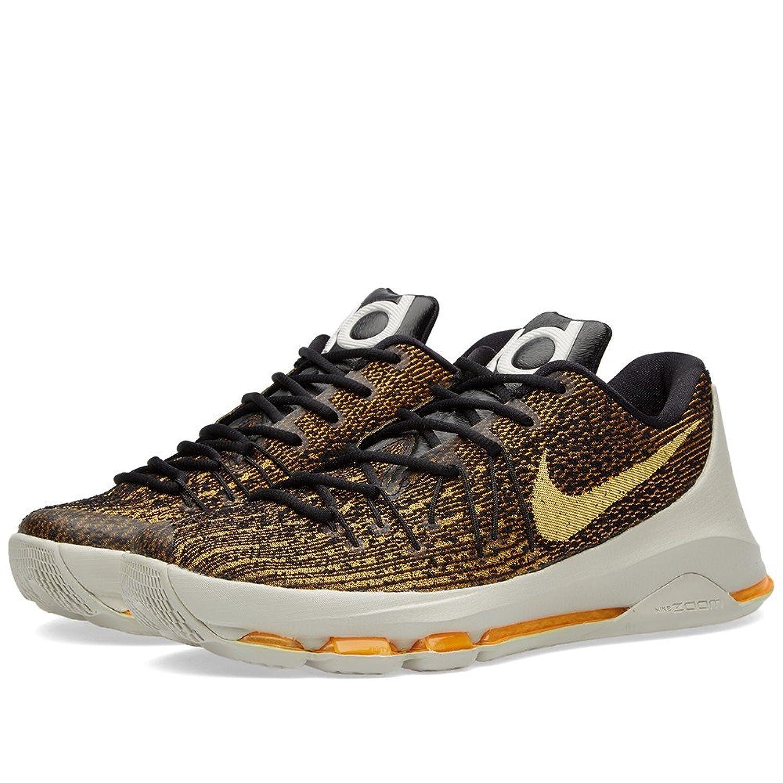 new product 18ada bcbd9 Amazon.com   Nike Mens KD VIII Basketball Shoes Black Orange   Track    Field   Cross Country