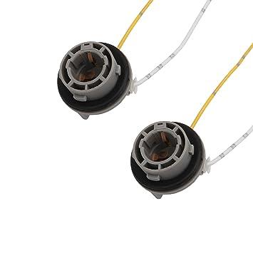1x Lampe Fassung Reparatur Stecker für BAU15s Stecker Sockel PY21W