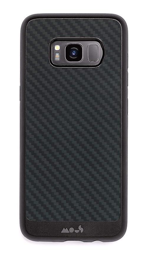online retailer 87bba 1839e Amazon.com: Mous Protective Samsung Galaxy S8+ Plus Case - Aramid ...