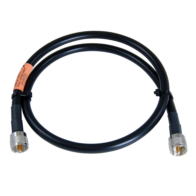 1 Foot Jumper PL-259 for Ham and CB JEFA Tech RG-213//U MILSPEC UHF Male