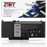 ZTHY New 62WH 6MT4T Laptop Battery Replacement for Dell Latitude E5470 Latitude E5570 Pricision 3510 Notebook PC, fits 7V69Y