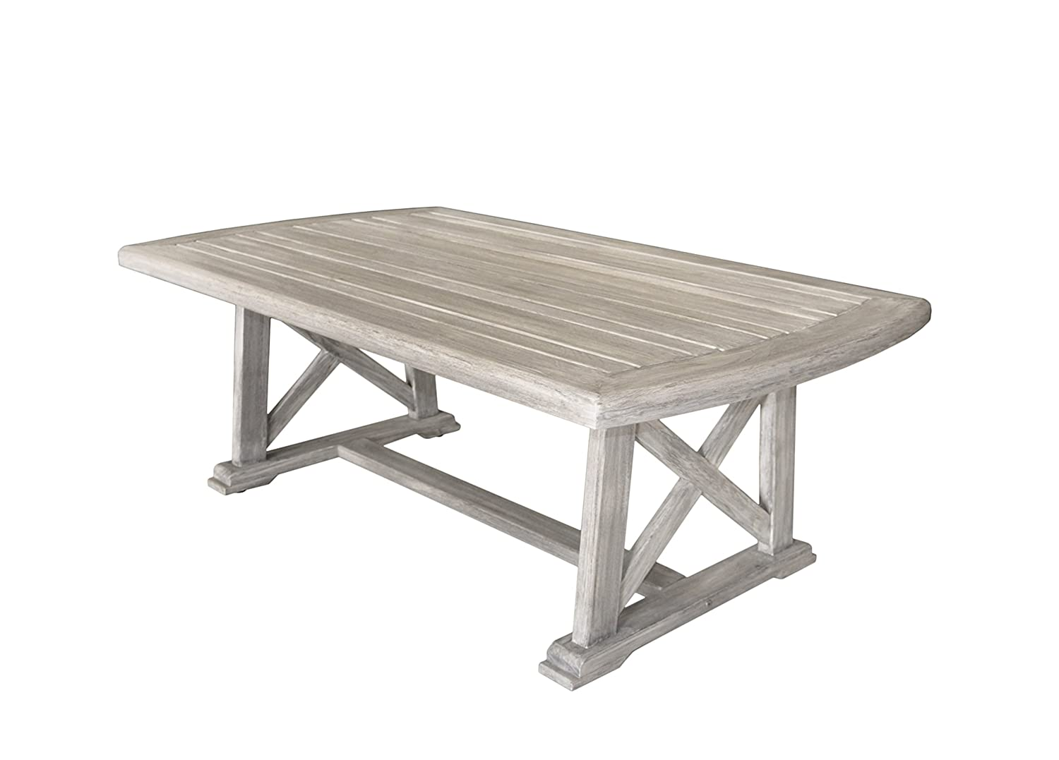 Amazon.com : Courtyard Casual Driftwood Gray Teak Surf Side Outdoor Coffee  Table : Garden & Outdoor - Amazon.com : Courtyard Casual Driftwood Gray Teak Surf Side Outdoor