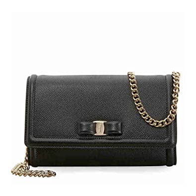 b0e359b1e354 Amazon.com  Salvatore Ferragamo Women s Miss Vara Cross Body Bag ...