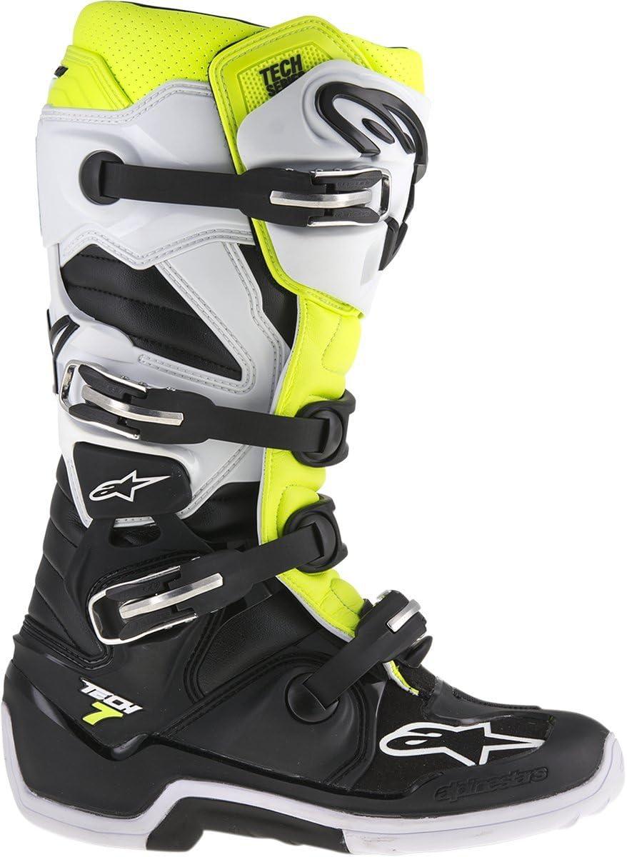 7 Alpinestars 2019 Youth Tech-3S Boots Black//White