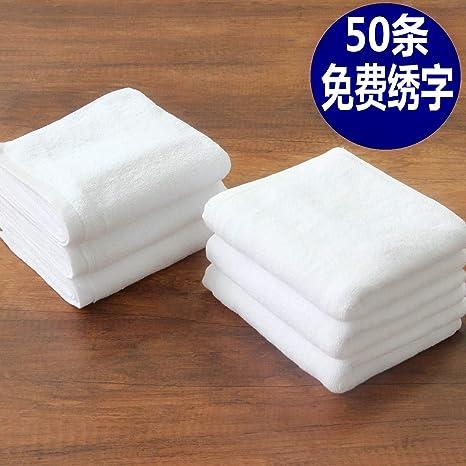 IUGGHS Personalizado Personalizado Creativo Toallas Hombres Mujeres Algodón Agua Engrosamiento Lavado Deportes Adultos, 32 Cm