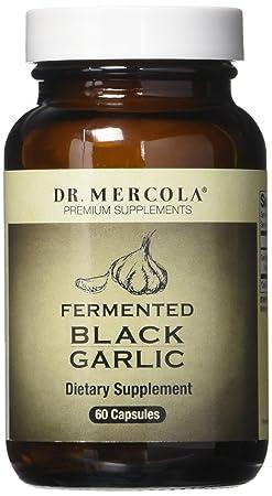 Dr. Mercola Fermented Black Garlic – 60 Capsules – 2 Bottles