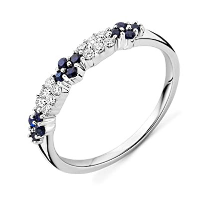 Miore Women's 9 ct Round Diamond Ring E0sapzlVLm