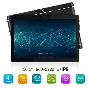 062f0f129511d PADGENE 10 Pulgadas Android Tablet PC 2G RAM 32G Memoria 5MP Trasera y 2MP  Cámara Frontal