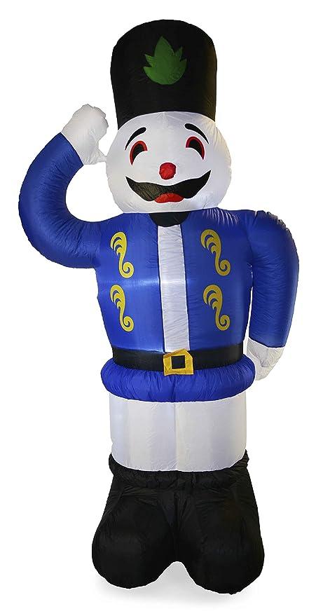 8 ft (2.4 M) hinchable de luz de muñeco de nieve, Papá Noel ...