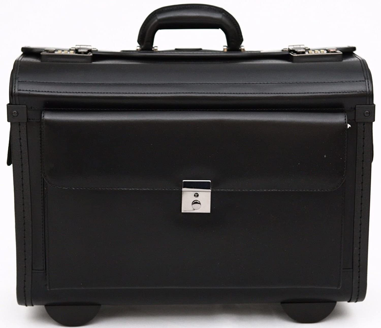 Leder Pilot Fall Aktentasche Flight Tasche Handgep/äck Business 40,6/cm Laptop Reise