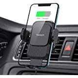 Wireless Car Charger,Yootech 15W/10W/7.5W Qi Car Charger,Fast Charging Auto Clamping Car Wireless Charger Air Vent Car Phone