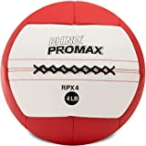 Champion Sports Rhino Promax Slam Balls, Soft Shell with Non-Slip Grip - Medicine Wall Ball for Slamming, Bouncing, Throwing