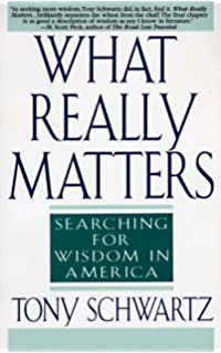Amazon by tony schwartz be excellent at anything the four keys what really matters searching for wisdom in america fandeluxe Gallery