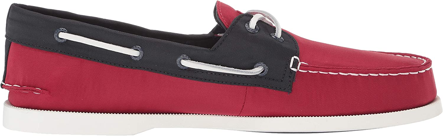 Sperry Top-Sider A/O 2-Eye Bionic, Modern Homme Rouge Bleu Marine
