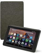 Amazon - Custodia originale per Fire HD 8 (tablet 8'', 7ᵃ e 8ᵃ generazione, modelli 2017 e 2018), Nero