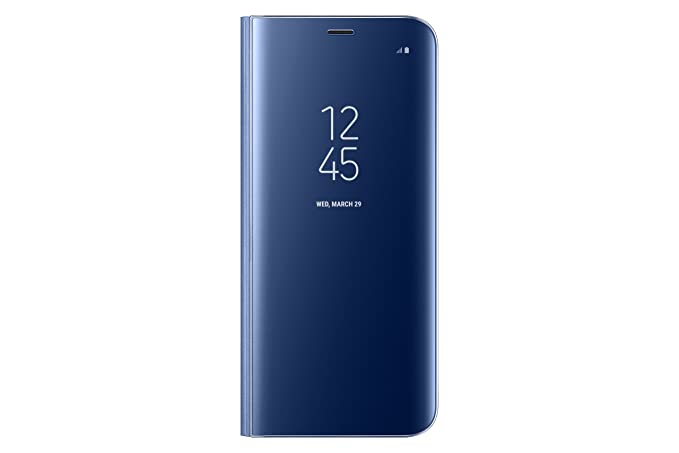 Samsung Galaxy S8 S-View Flip Cover with Kickstand, Blue - EF-ZG950CLEGUS