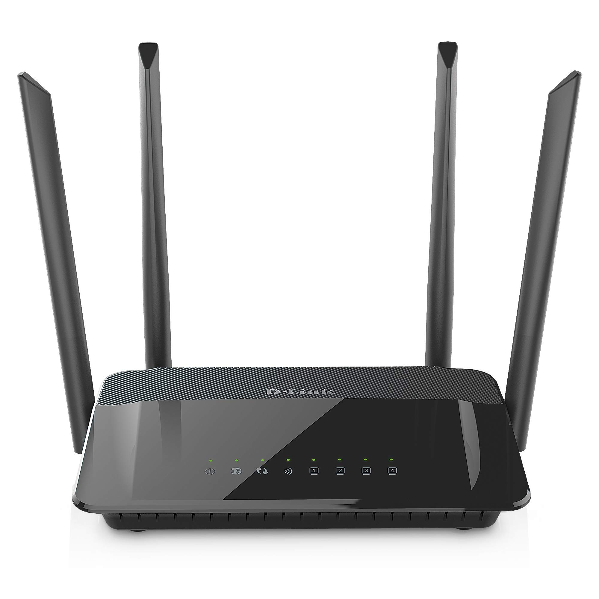 D-Link AC1200 Wifi Router - Smart Dual Band - Gigabit - MU-Mimo - High Power Antennas for Wide Coverage - Easy Setup - Parental CONTROLS (DIR-842) by D-Link