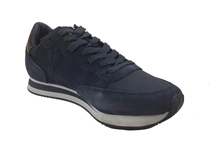 by NAVIGARE Scarpa Uomo Man Casual Sneakers Navy Sail camoscio Tessuto 3025  (41 EU dd7d4721b5e