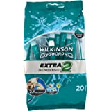 Wilkinson Sword Extra Sensitive Disposables Razors, pack of 20