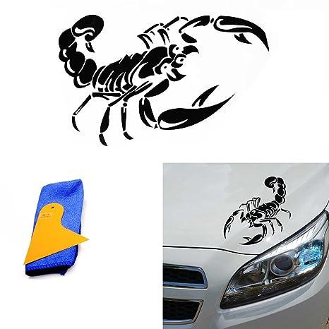 Amazon.com: aby 1 pcs Auto Car Scorpion calcomanía De Vinilo ...