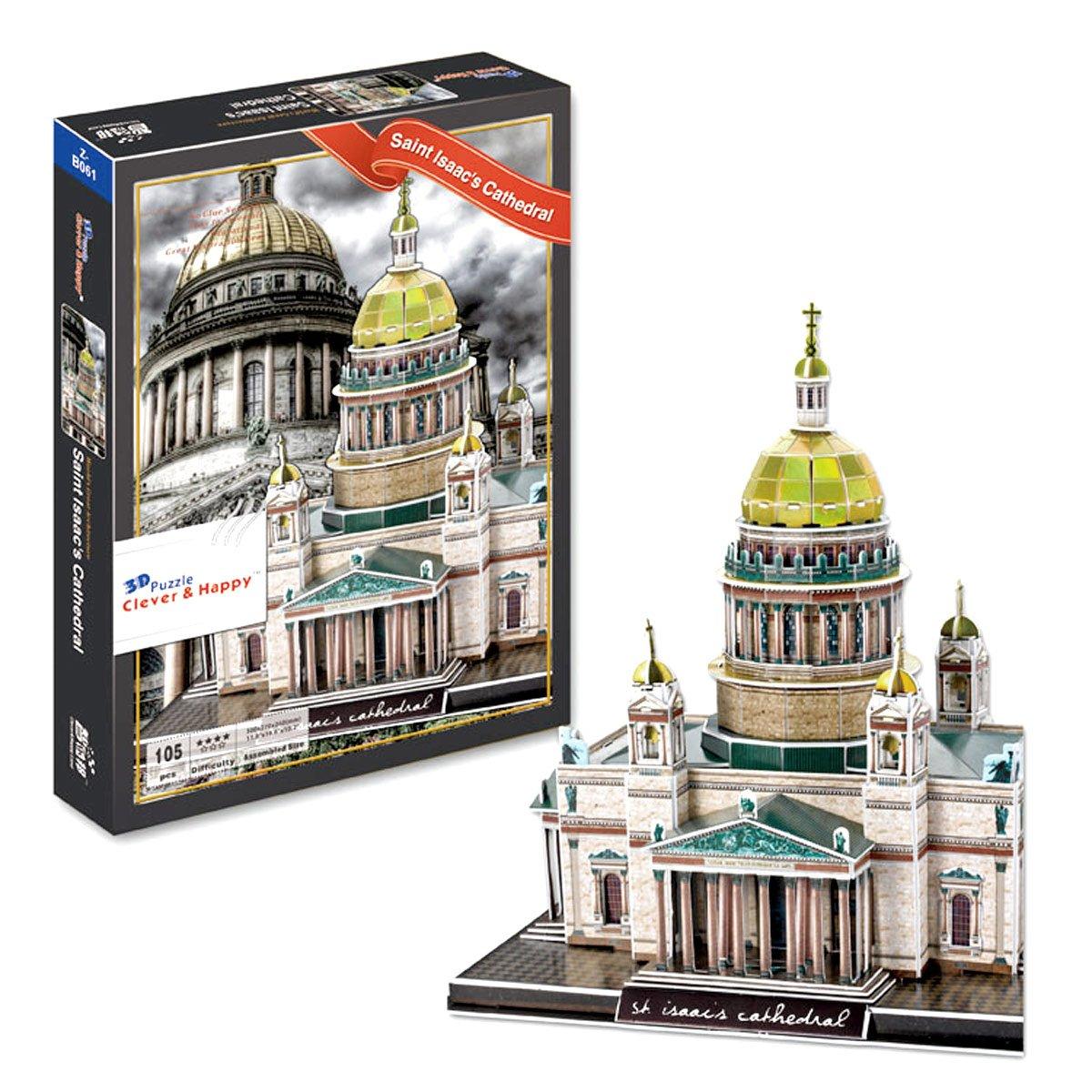 Saint Isaacs大聖堂3dパズル Saint、105ピース B014IT49CI B014IT49CI, JEUNEEN LIGNE:d66ea3c9 --- m2cweb.com