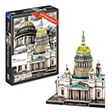 AMPERSAND SHOPS Saint Isaacs Cathedral 3D Puzzle. St. Petersburg Russia (105 Pcs)