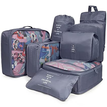 aea85b2b5 Equipaje Embalaje Cubos Organizadores de viaje Neceser para viaje  Organizadores para Maletas Bolsa de zapatos (