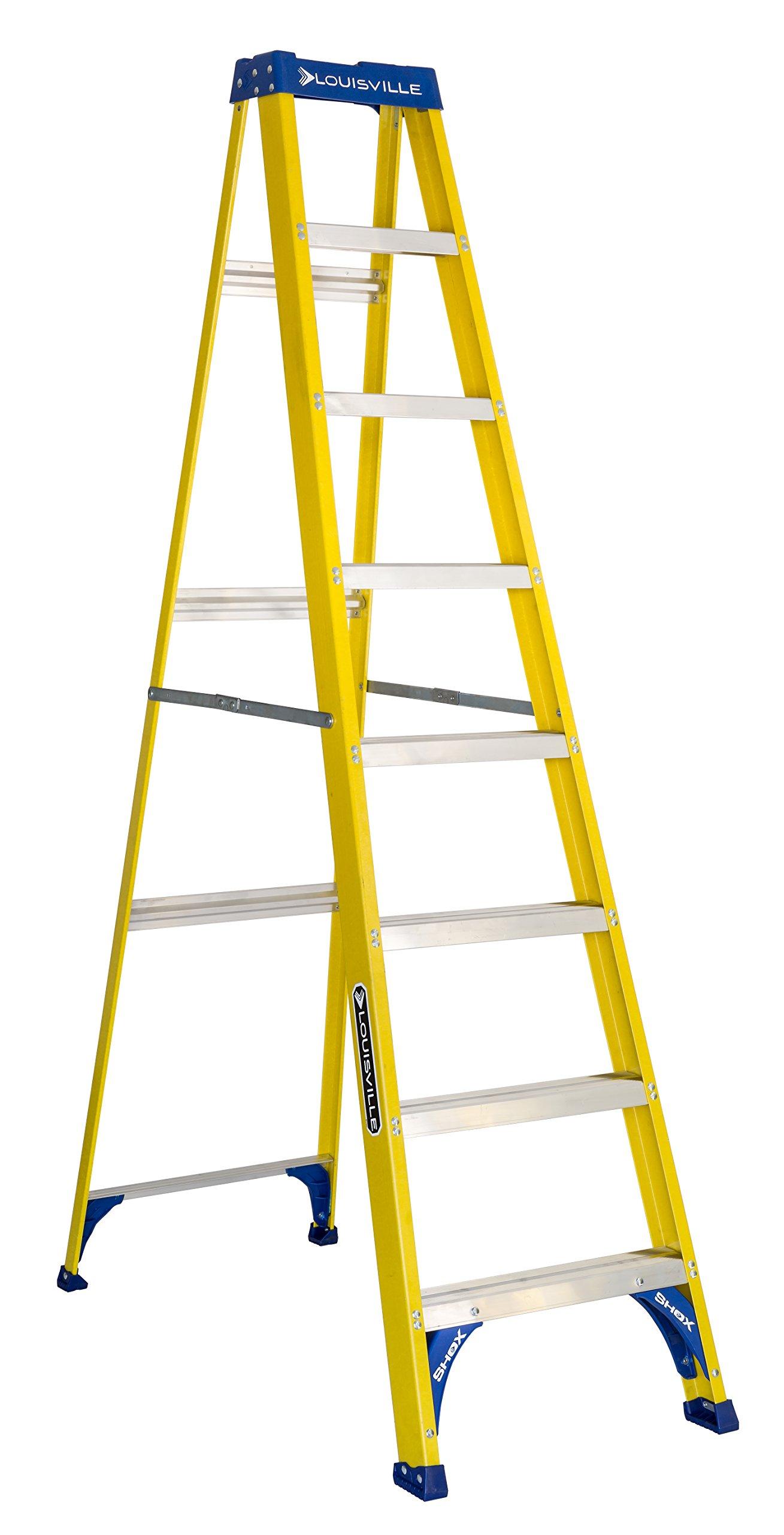 Louisville Ladder FS2008 Step Ladder 8-Feet/250lb