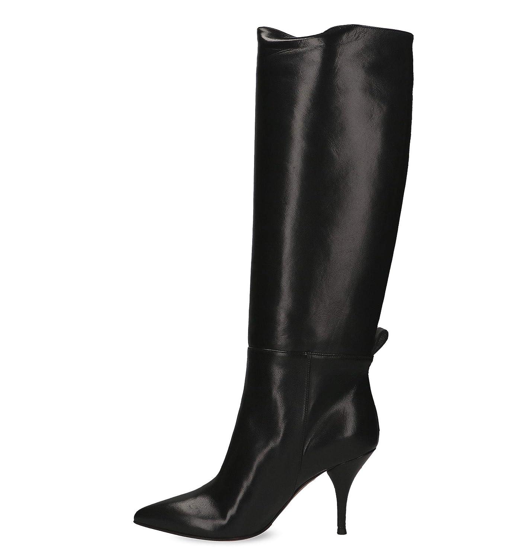 L'Autre Leder Chose Damen LDH00185WP26151001 Schwarz Leder L'Autre Stiefel 8a773b