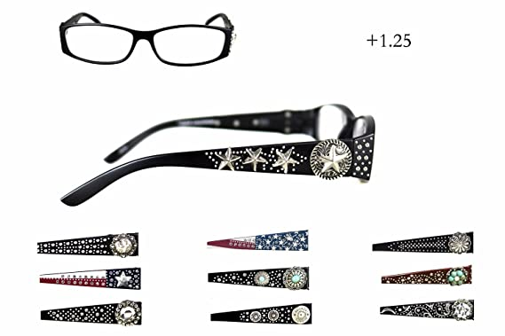 abef591b21fc Montana West Ladies Reading Glasses Western Style Lot of Three Assorted  Pairs