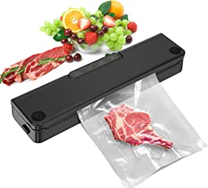 Vacuum Sealer Machine,RUMIA Automatic Vacuum Air Sealing System Machine for Food Savers,Dry & Moist Food Modes,With Led Indicator Lights