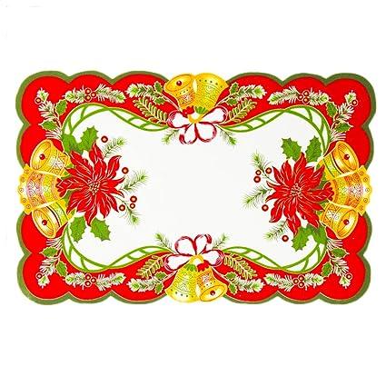 Amazon Com Faironly Christmas Dining Table Decoration Christmas