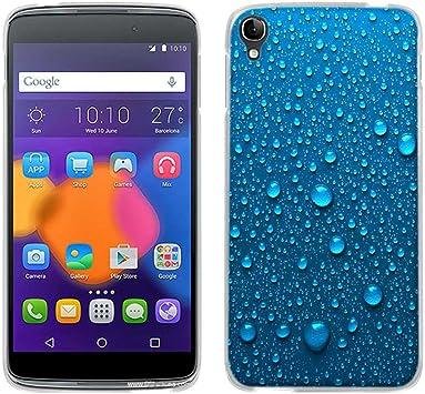 FUBAODA Funda para Alcatel One Touch Idol 3 (5.5 Inch), [gocce d ...