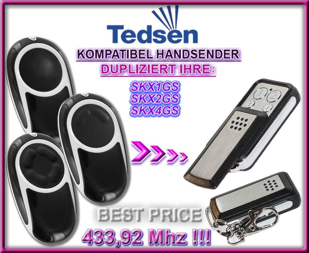 SKX2GS klone fernbedienung 4-kanal 433,92Mhz fixed code Top Qualit/ät Kopierger/ät!!! SKX4GS kompatibel handsender Tedsen SKX1GS