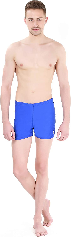 TYR Mens Durafast Elite Solid Square Leg Swimsuit