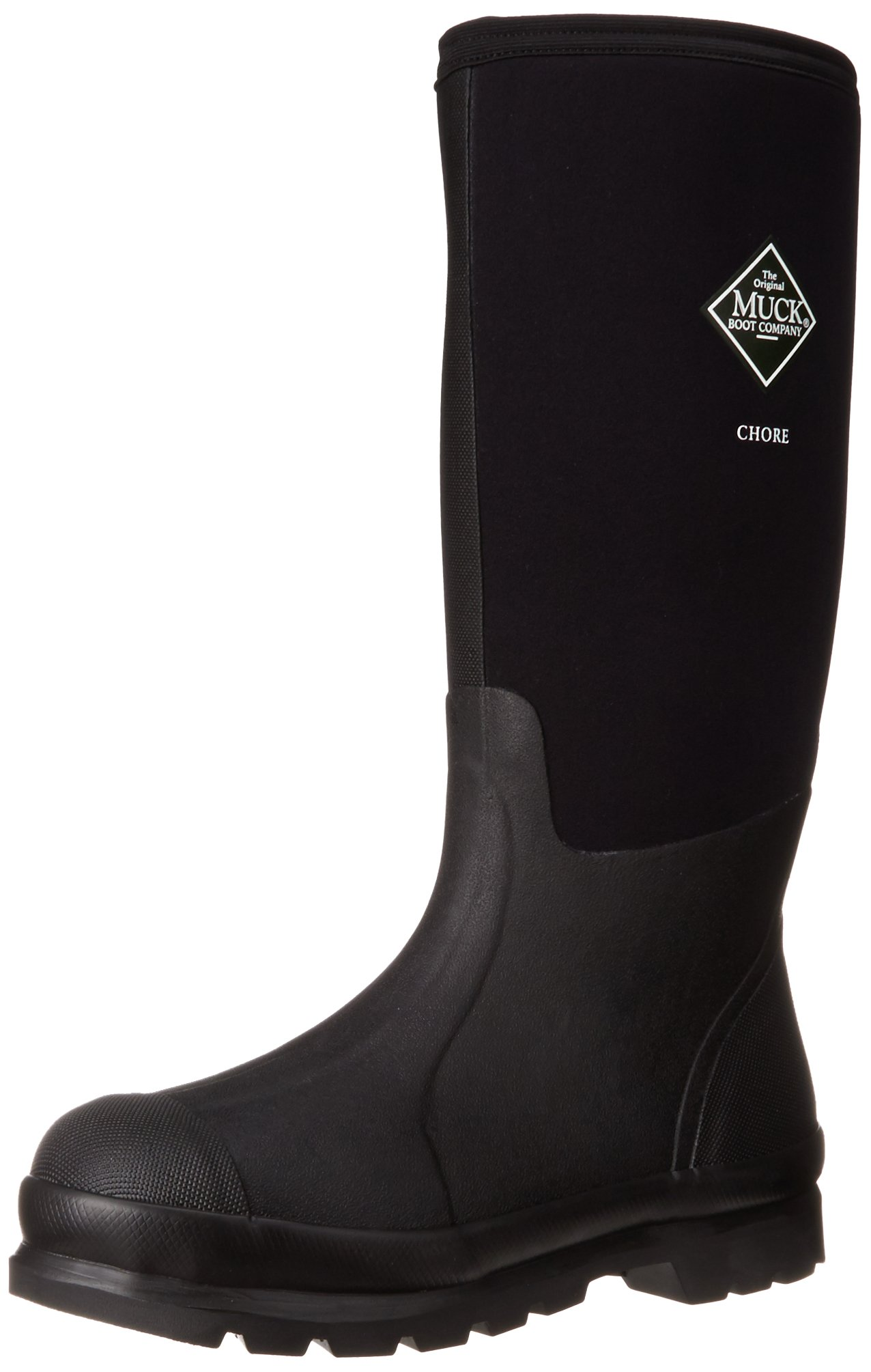 The Original MuckBoots Adult Chore Hi-Cut Boot,Black,Men's 8 M US / Women's 9 M US by Muck Boot