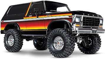 Traxxas TRX-4 Ford Bronco 1/10 Trail y de escalera Crawler, Sombrero de sol