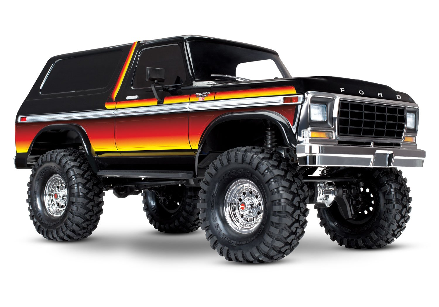 Amazon com traxxas trx 4 ford bronco 1 10 trail and scale crawler sunset toys games