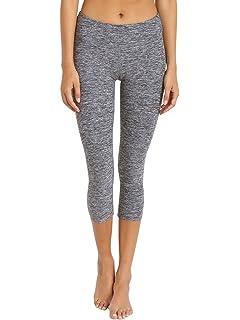 0527e3914a7ad Amazon.com: Beyond Yoga Women's Side Gathered Capri Legging: Clothing