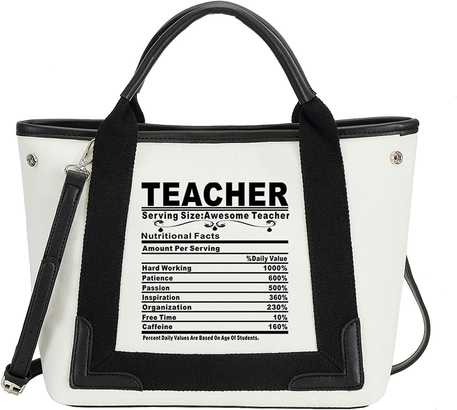 20 Best Teacher Bags on Amazon Right Now_ Teacher serving size awesome