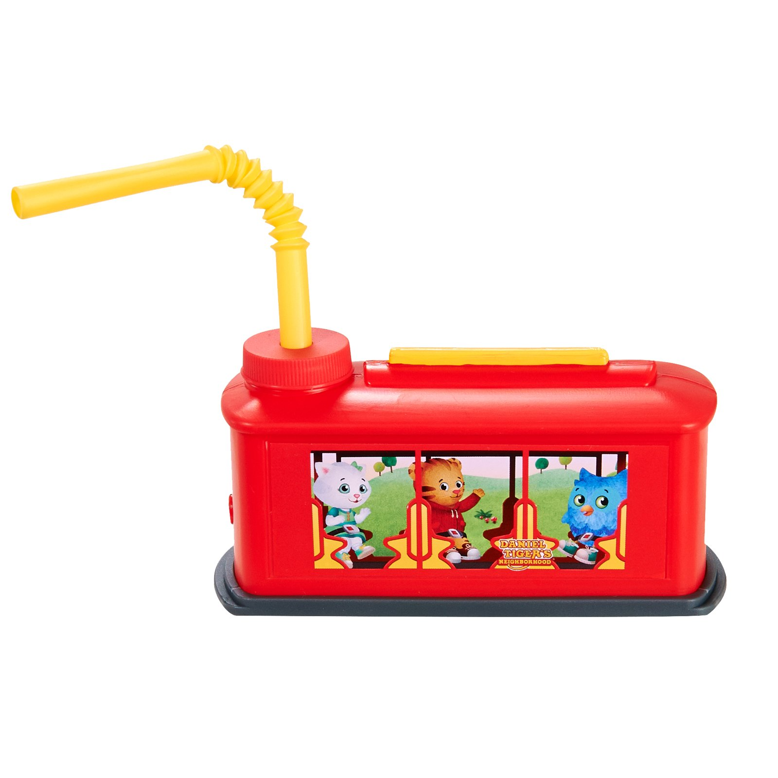 Daniel Tigers Neighborhood Childrens Birthday Party Supplies - Train Trolley Plastic Favor Sippy Cup with Straw (8)