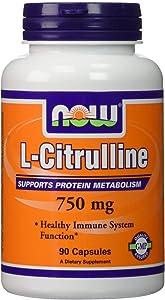 Now Foods L-Citrulline, 90 Count