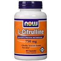 L-Citrulline, 750 mg, 90 Capsules - Now Foods - Qty 1