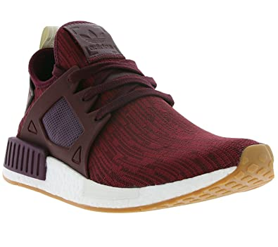 cd12f8652 adidas NMD XR1 Primeknit Women Maroon - BB2368 - Color Burgundy - Size  9  Red