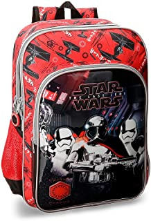 61c4ea25dc Star Wars VIII Double compartment adaptable school backpack 40cm